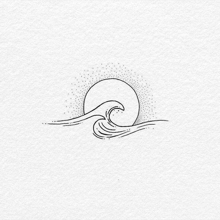 Bilder auf Anfrage minimalistische Tattoos Harmonie #Minimalisttatto