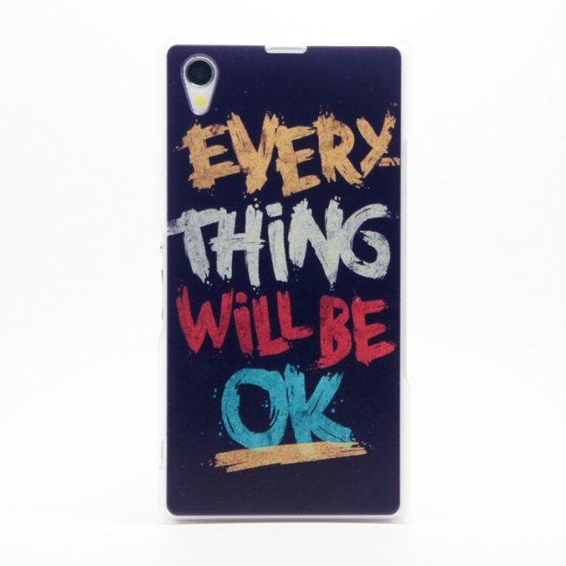 Πλαστική Θήκη Ok Plastic Case (Xperia Z1) - myThiki.gr - Θήκες Κινητών-Αξεσουάρ για Smartphones και Tablets - Everything Will Be Ok