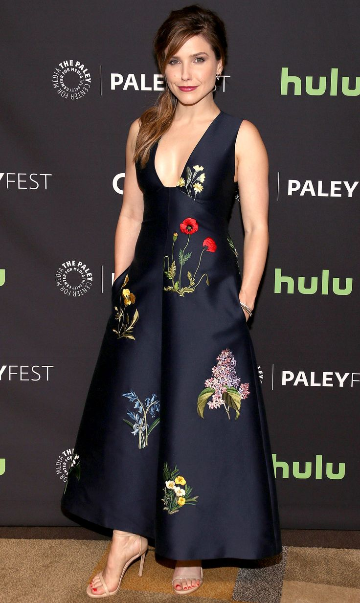 SOPHIA BUSH in Stella McCartney dress at Paley Fest March 2016