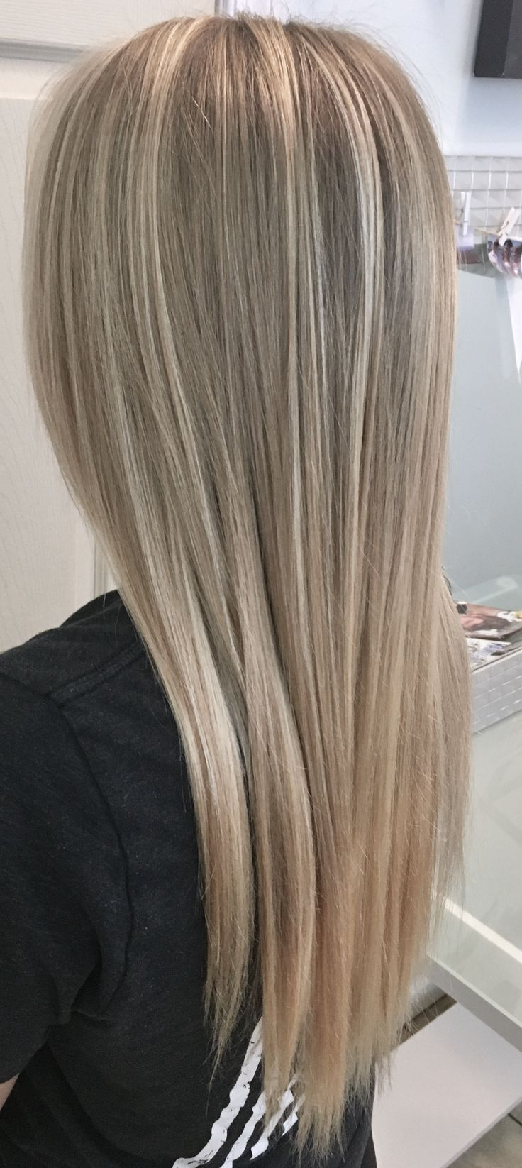Perfectly Blended Blonde Balayage By Hannah Galloway -Golden Halo Salon – 540.82… – #balay…
