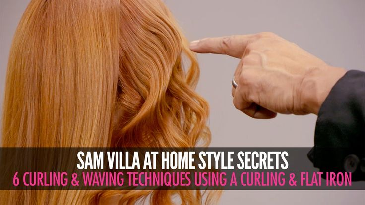 6 Different Ways To Curl Your Hair | Sam Villa - This is seriously good for beginners. He explains everything really well and shows a bunch of ways you can curl - from simple and easy to pretty elaborate. :)