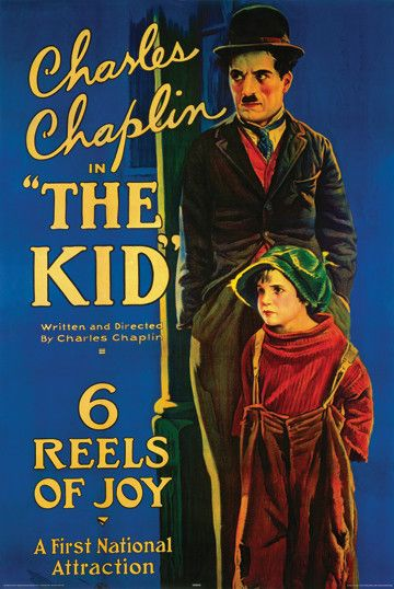 The Kid (1921) Director: Charlie Chaplin Stars: Charlie Chaplin Jackie Coogan Comedy Drama 68 min B&W Silent ~  The Tramp cares for an abandoned child, but events put that relationship in jeopardy.
