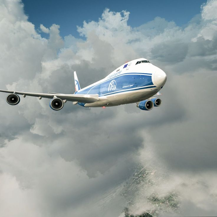 Firebird departing Tallin. Firebird is a callsign of Cargo Logic Air