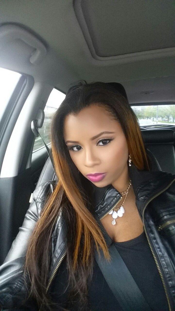 Makeup pink lips!