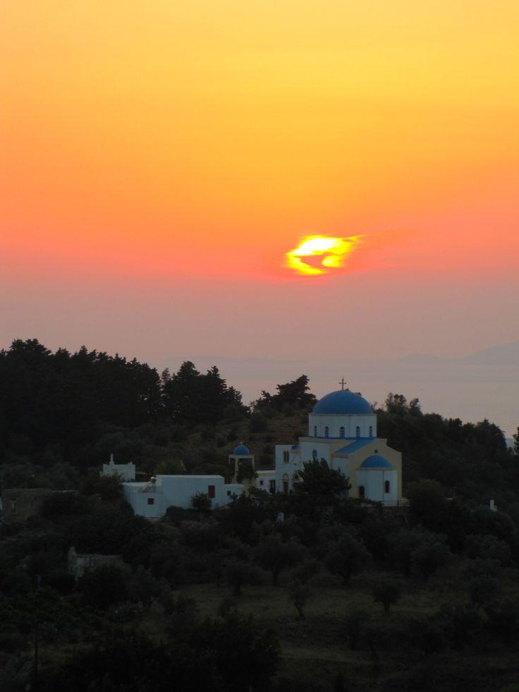 Church - Sunset - Kos - Greece