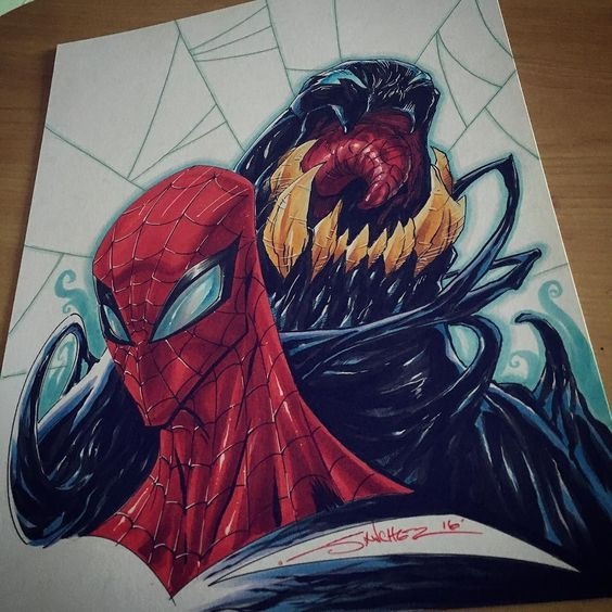 #Venom #SpiderMan