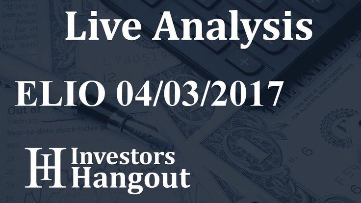 $ELIO Stock Live Analysis 04-03-2017 Elio Motors Inc (ELIO): $ELIO Stock Live Analysis 04-03-2017 Elio Motors Inc (ELIO)