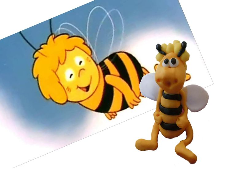 Jak ulepić Pszczółkę Maje ?/ How to do with modeling clay Maya the Bee