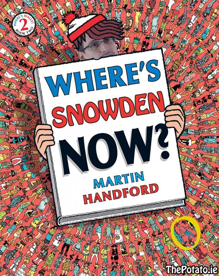 Edward Snowden Releases New Book - The Potato