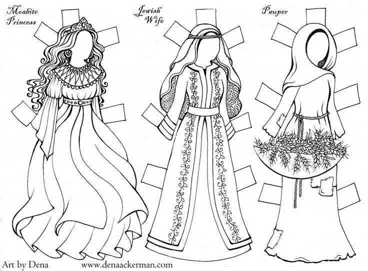 Ruth Paper Dolls 2
