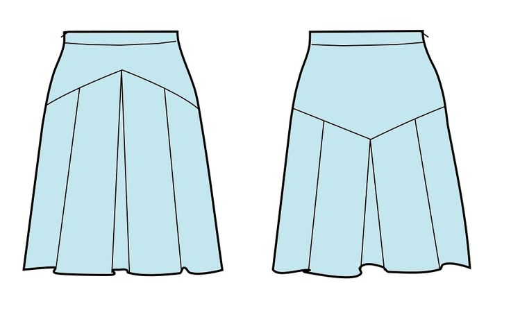 1000 ideas about pleated skirt pattern on