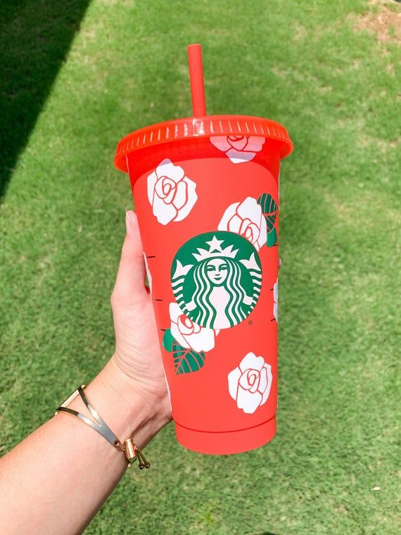 Here's everything we know about the starbucks 2021 valentine's day collection of themed coffee cups and mugs, in select stores this month. Rose Starbucks Cup White Rose Starbucks Rose Cup | Etsy in 2021 | Starbucks cups, Starbucks cup ...