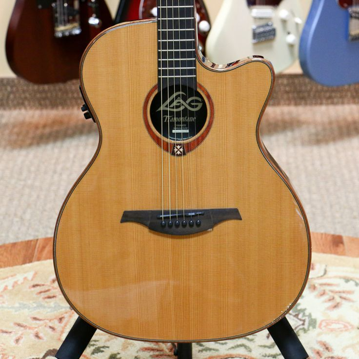 Lag T100ASCE Tramontane Slimline Acoustic-Electric Guitar - Natural