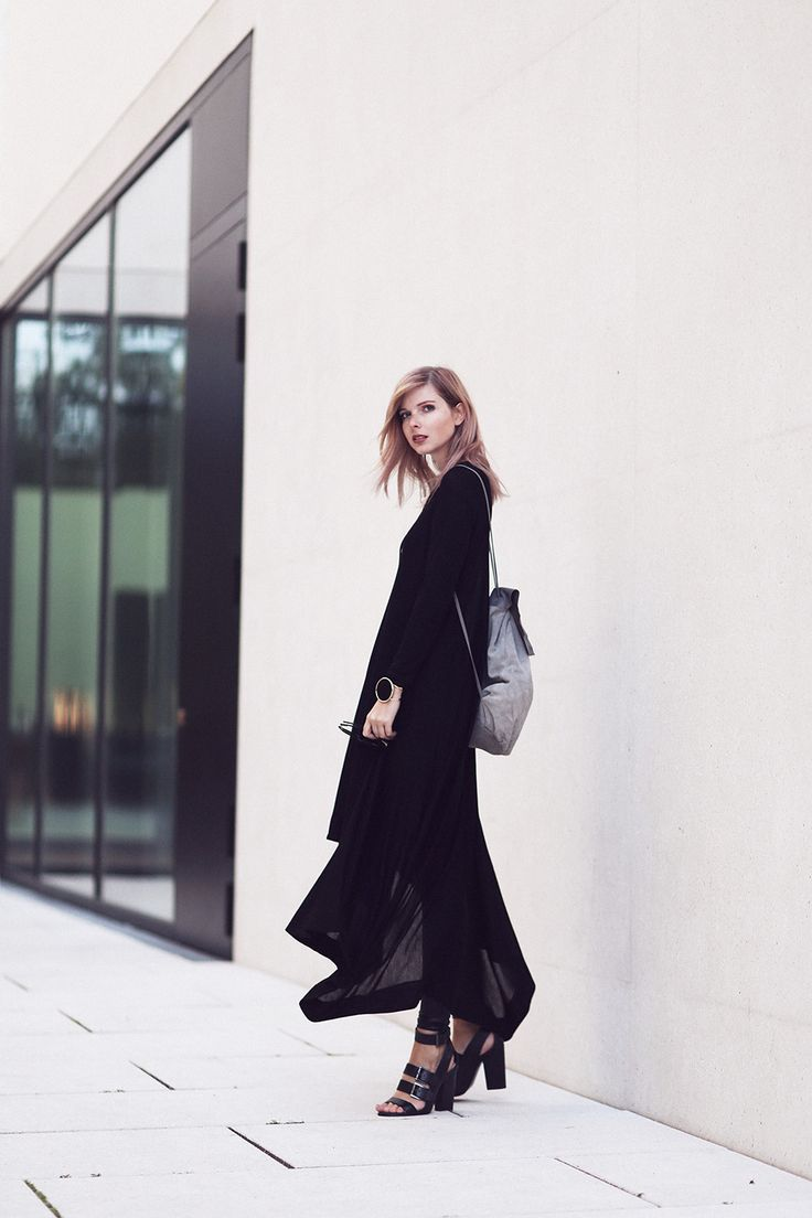 jersey dress: COS    leggings: Asos    shoes: Zara (similar here)    backpack*: Asos    bracelet: River Island via Asos   I think I'm about to start loving these tone in tone outfits.
