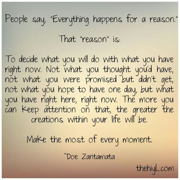 everything happens for a reason quotes pinterest