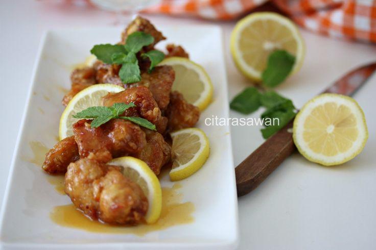Ayam Lemon Madu / Honey Lemon Chicken