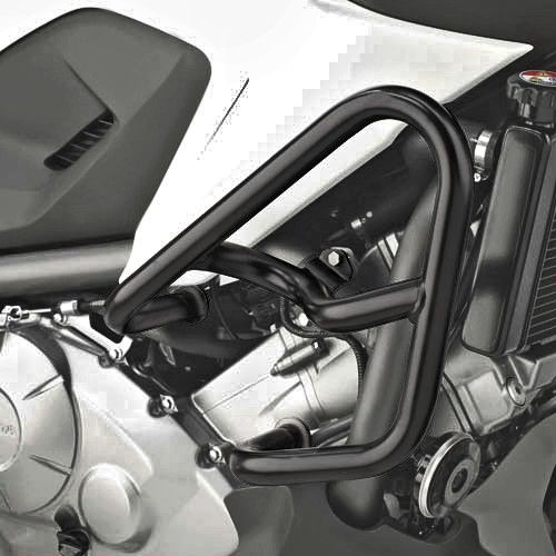 crashbars givi honda nc 750 x 2014 black motos. Black Bedroom Furniture Sets. Home Design Ideas