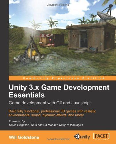 Unity 3.x Game Development Essentials by Will Goldstone - This helped me to understand Unity at the beginning of my programming journey - http://lionroot.com/indiedev-education/indiedev-programmer/