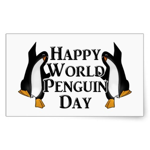 April 25th is World Penguin Day  #PenguinDay #Penguin -