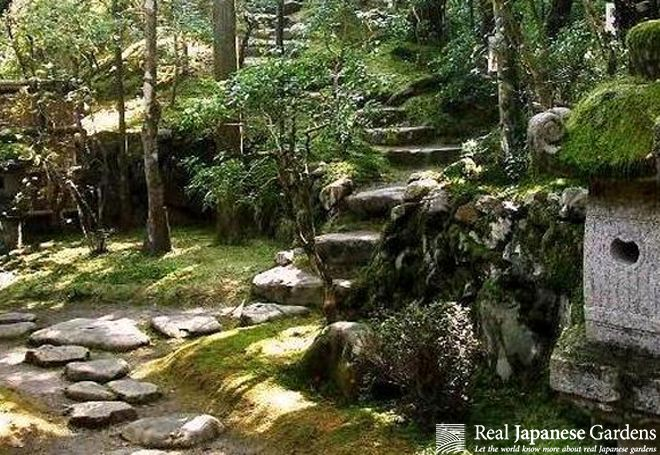Japanese garden paths part 2 real japanese gardens for Japanese garden path