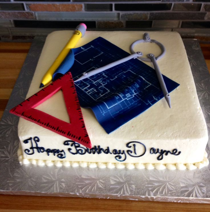architect birthday cake Birthday Cakes Pinterest ...