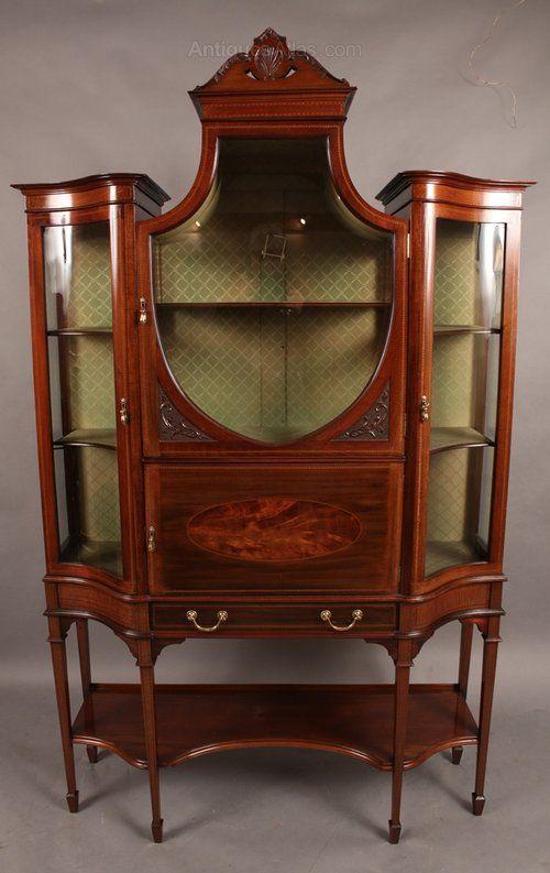 Luxury Antique Curio Cabinet Hardware