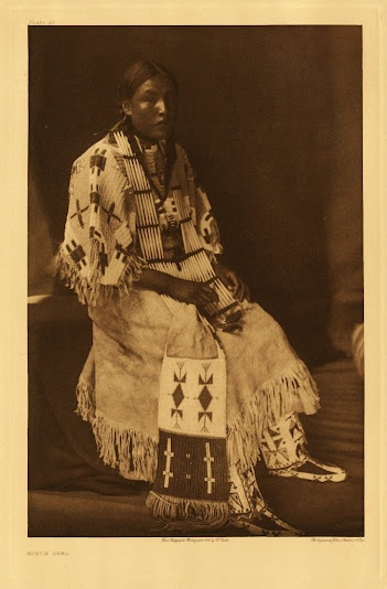 Red Elk Woman - Oglala - 1907
