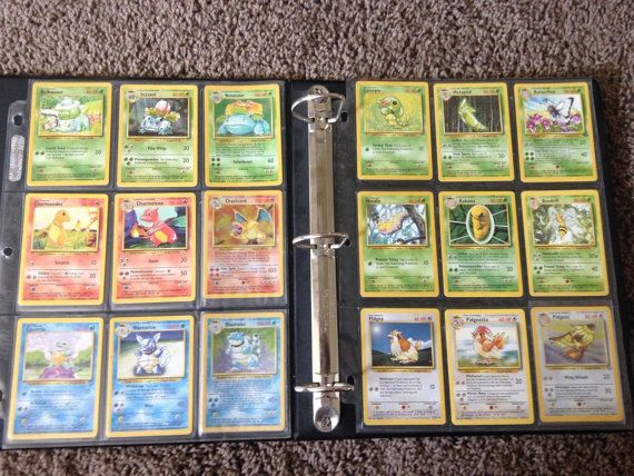 Complete set of Pokemon 151/150 Original SET- Base, Jungle, Fossil -Charizard For sale is an Excellent-Near Mint set of the original 151 Pokemon