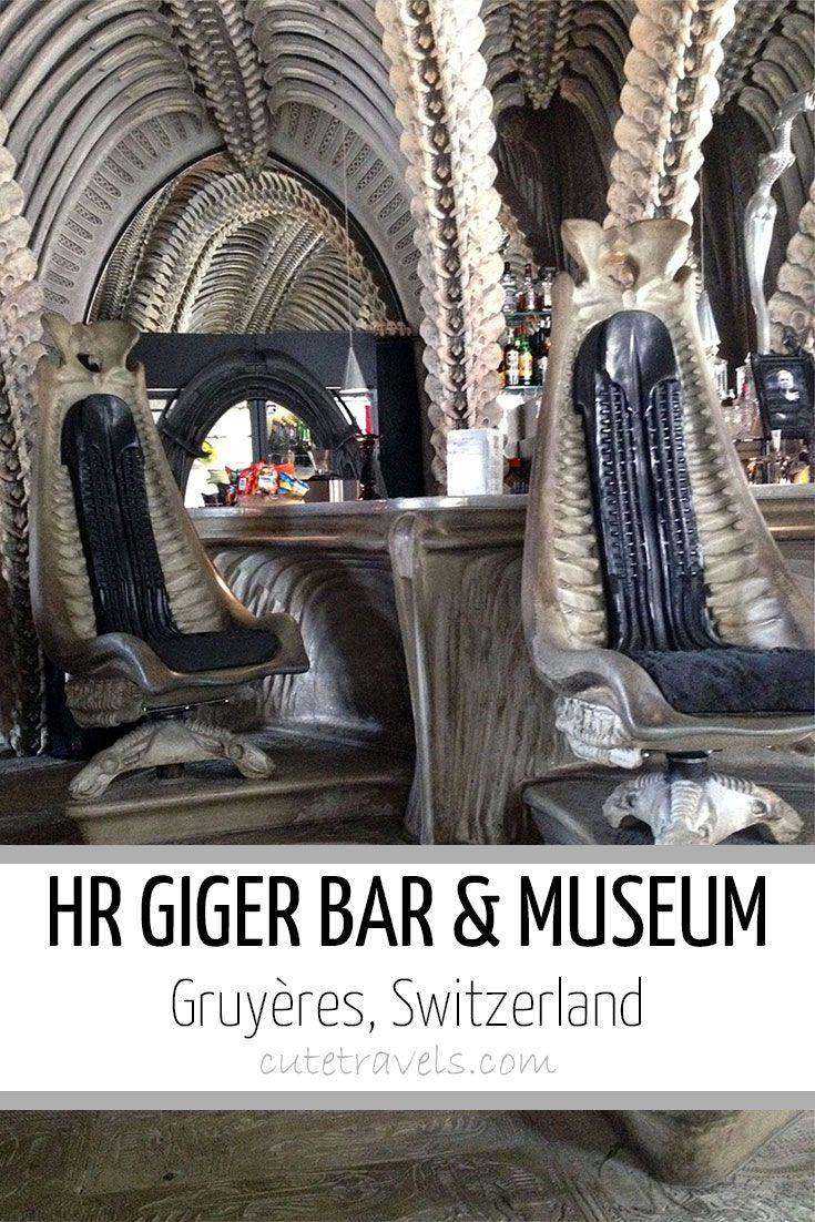 Hr giger tattoo designs - H R Giger Bar And Museum Gruy Res Switzerland