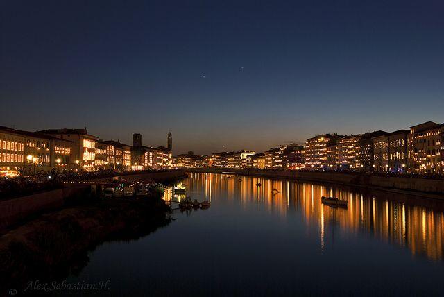 Luminara Pisa, Toscana