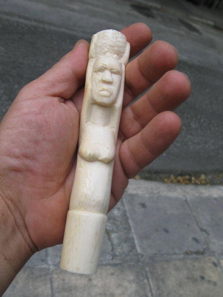 113g VINTAGE antique genuine AFRICAN BONE by spyrinex06 on Etsy