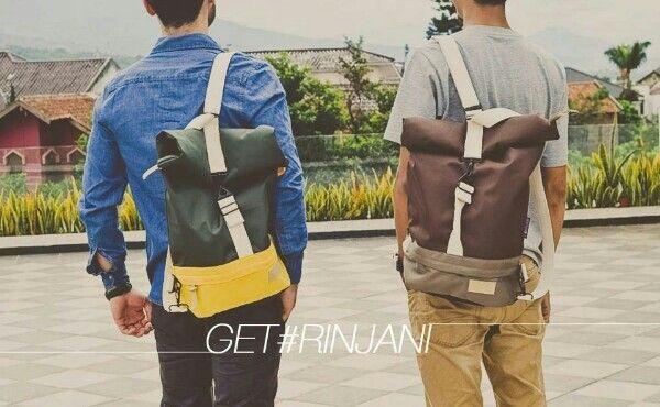 Get #Rinjani from Getdailygear #indonesiaproduct #bags https://www.facebook.com/octaviastore