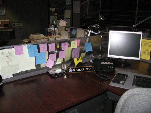 Spencer Reid Desk Criminal Minds To Catch A You Have Think Like One Pinterest And