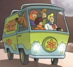Scooby Doo Cartoon Used to watch this all the time when I was little. Moral of the show: monsters aren't usually to blame, humans are.