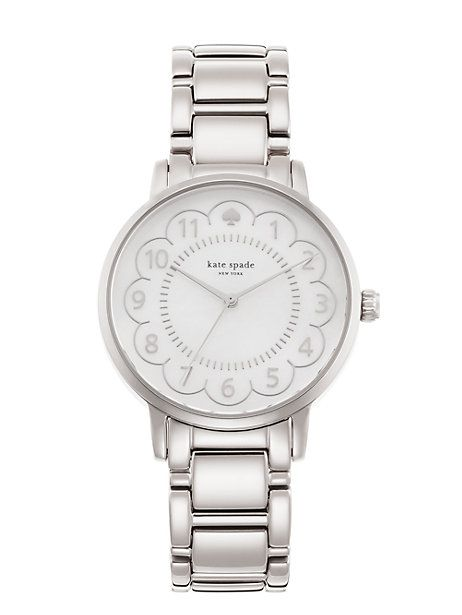 lovely as a walk in the park, this classic timepiece was inspired by manhattan's gramercy park, a charming neighborhood once host to writers oscar wilde and o. henry. crafted in a mother of pearl dial