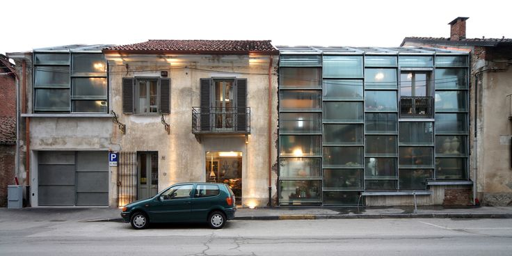 Glass Facade for Atelier Fleuriste by Elasticospa