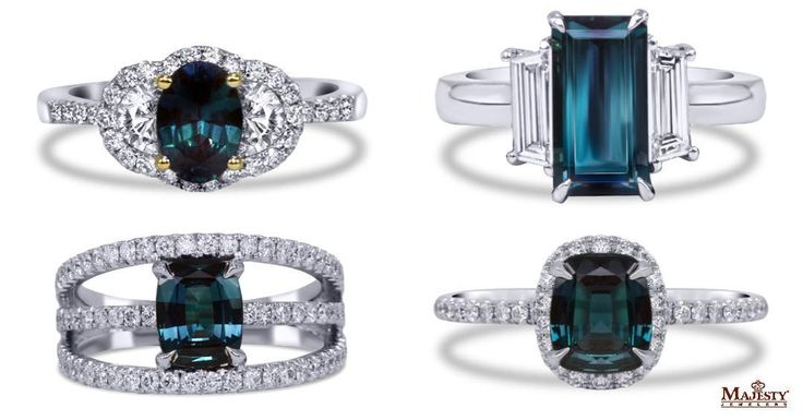 "46 Likes, 4 Comments - Majesty Jewelers (@majestyjewelers) on Instagram: ""Just as the horizon transforms from dusk to dawn, so does @markhenryjewelry Alexandrite. Pick up…"""