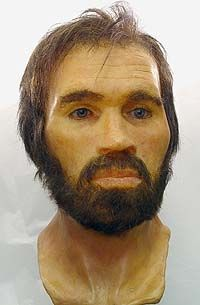 Another good looker! Lindow Man, also known in jest as Pete Marsh, is the preserved bog body of a man discovered in a peat bog at Lindow Moss near Wilmslow in Cheshire,England.At the time of death, Lindow Man was a healthy male in his mid-20s, and he may have been someone of high status, as his body shows little evidence of heavy or rough work. Lindow Man was strangled, hit on the head, and his throat cut. Dating the body has proven problematic, but pos, some time between 2 BC and 119