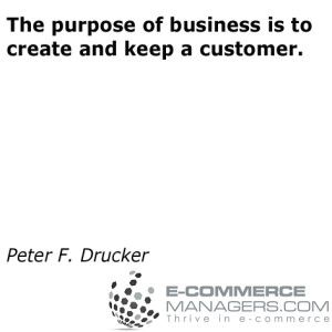 Another great #quote by Peter F. Drucker