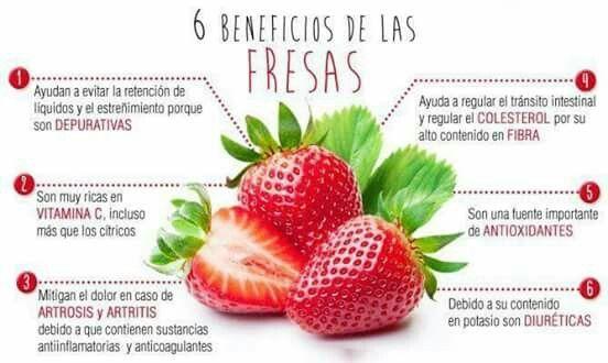 Beneficios de fresas