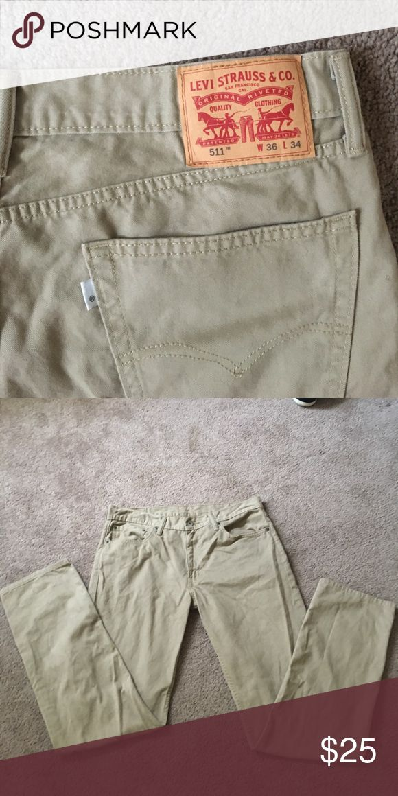 Levi 511 Pants Never worn couldn't fit them :( size 36/34 Levi's Jeans Straight