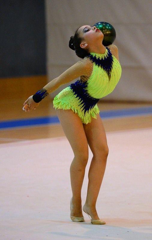 beautiful #rhythmic_gymnastics