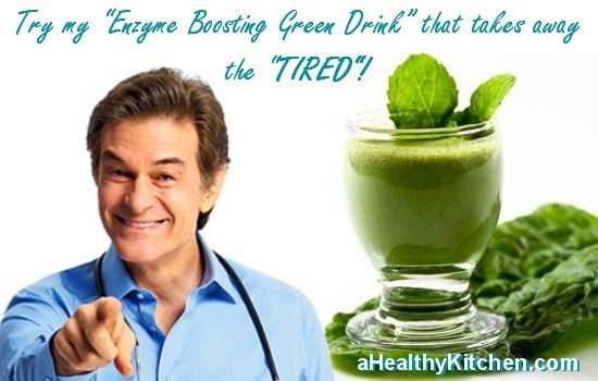 Dr Oz's Enzyme Boosting Green Drink | Restore Natural Health & Energy | Losing It with Friends in A Healthy Kitchen