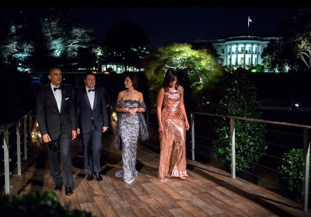 #14th & #FINAL #STATE #DINNER On Tuesday, #October18th #2016 the #President Of The United States  #BarackObama and #FirstLady Of The United States  #MichelleObama will welcome the #Italian #PrimeMinister #MatteoRenzi and his #wife, Mrs. Agnese Landini, to the #WhiteHouse on #Tuesday#October18th #2016 for the #last Official Visit and State Dinner It's bound to be a big, glittery affair: Celebrity chef Mario Batali will be in the kitchen, and singer Gwen Stefani will perform after dinner