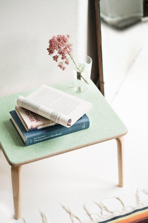 Modernica Case Study Fiberglass Demi Table