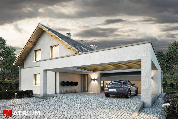 Projekt Awans - elewacja domu