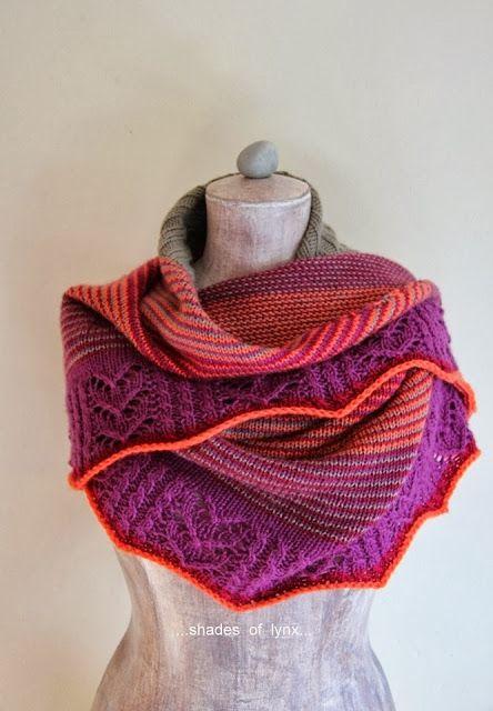 Camille shawl...shades of lynx...