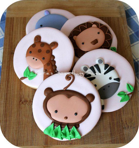Biscoitos Decorados - safari