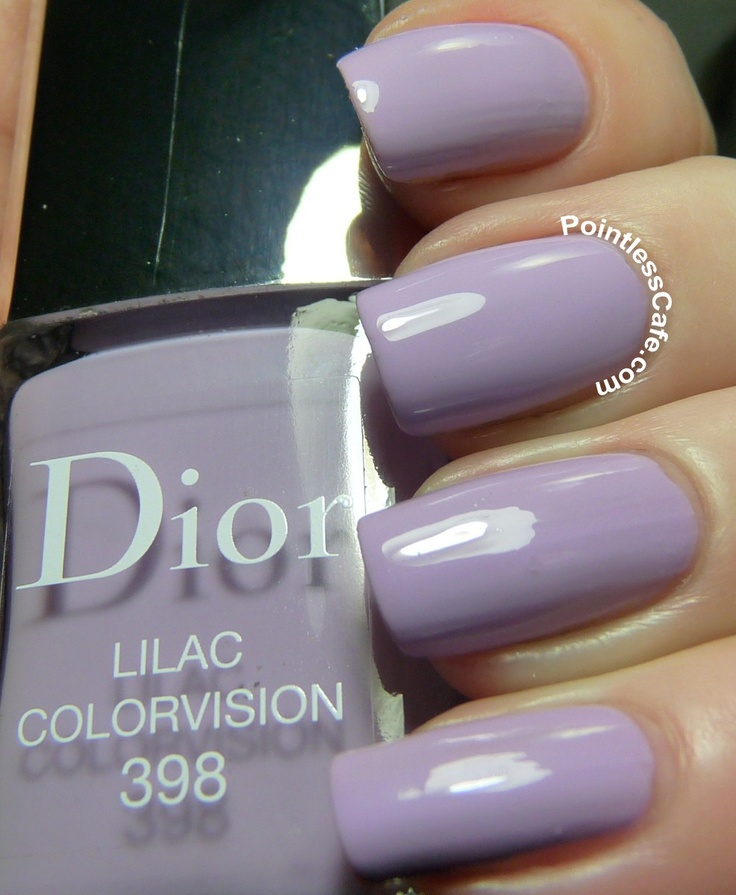 Dior Lilac Colorvision #398 | Pointless Cafe