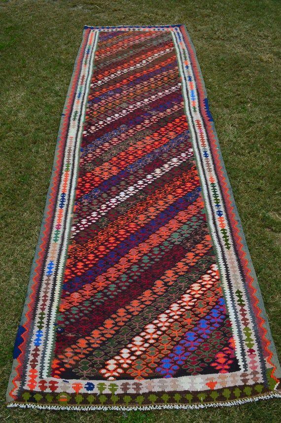 Stunning Tukish Flat Weave Runner